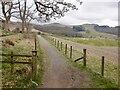 NS5281 : Path passing Dumgoyach by Richard Webb