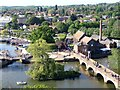 SP2054 : Stratford-upon-Avon - View from the Ferris Wheel by Rob Farrow