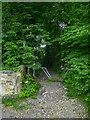 SE1125 : Stile on Brighouse Footpath 23/6, Hipperholme by Humphrey Bolton