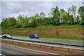 SE4336 : A1(M) near Aberford by David Dixon