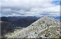 NN1753 : Summit ridge of Stob Dubh by Trevor Littlewood