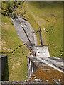 NN1620 : Spillway from Upper Shira dam by Patrick Mackie