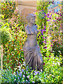 SJ8398 : Manchester Flower Show, Garden of Statues in St Ann's Square by David Dixon