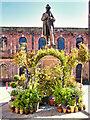 SJ8398 : St Ann's Square, Garden of Statues (Manchester Flower Show) by David Dixon