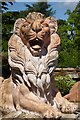 SJ1257 : A stone lion by Philip Halling