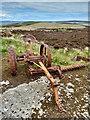 ND4092 : Rusting piece of farming equipment by Mick Garratt