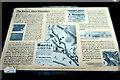NZ2664 : Information board, Ballast Hills Burial Ground by Andrew Curtis