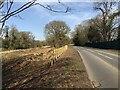SP3073 : HS2 enabling works, Dalehouse Lane, Kenilworth, March 2021 (3) by Robin Stott