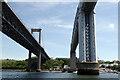 SX4358 : Bridges over the River Tamar by Stephen McKay