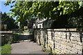 SK9214 : Churchyard gate by Bob Harvey