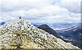 NN1753 : Summit of Stob Dubh by Trevor Littlewood