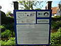 SP8710 : Information Board on the Wendover Arm Canal at Halton by David Hillas