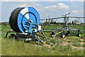 TQ5371 : Irrigation equipment near Shirehall Farm by David Martin