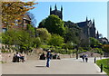 SO8454 : Kleve Walk and Worcester Cathedral by Mat Fascione