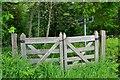NT5268 : Gates on the Gifford path by Jim Barton