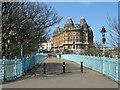 TA0488 : Cliff bridge and Grand Hotel, Scarborough by Malc McDonald