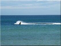NK0066 : Jet ski on Fraserburgh Bay by Oliver Dixon
