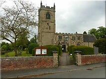 SK1217 : Church of All Saints, King's Bromley by Alan Murray-Rust
