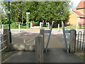 SK5443 : A pair of incongruous horse stiles on NCN6 by SK53