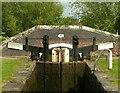 SK1614 : Bagnall Lock 13, Trent & Mersey Canal, Alrewas by Alan Murray-Rust
