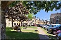 SP1925 : Green space in the Market Square, Stow-on-the-Wold by Mat Fascione