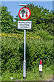 TQ1750 : Incorrect road sign by Ian Capper