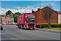 SD7807 : Articulated HGV on Water Street by David Dixon