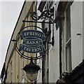 TA0829 : The sign of The Spring Bank Tavern by David Lally