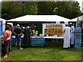 SP3165 : Muslim stall, Leamington Peace Festival by Alan Paxton