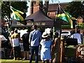 SP3165 : Jamaican food stall, Leamington Peace Festival by Alan Paxton