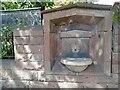 SJ3891 : Melly Drinking Fountain by Sue Adair