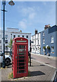 TR3753 : Red Phone Box, Alfred Square by Des Blenkinsopp
