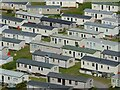 SS4190 : Holiday caravans at Hillend by Philip Halling
