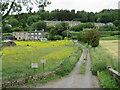 SE0814 : Lees Mill Lane, Slaithwaite by Malc McDonald