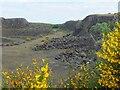 NT6218 : Disused quarry, Dunion Hill by Jim Barton