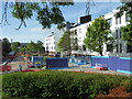 SO8754 : Worcestershire Royal Hospital - building site by Chris Allen