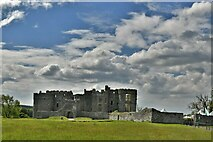 SN0403 : Carew Castle by Michael Garlick
