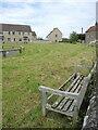 ST8977 : A seat on Grove Lane by Neil Owen