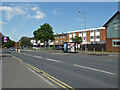SO8756 : Shops on Cranham Drive, Worcester by Chris Allen
