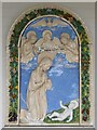 SN5748 : Detail at Our Lady of the Mount Carmel by Philip Halling