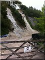 SX0454 : Landslip, Eden Project, Cornwall by Alan Paxton