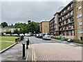 TQ3371 : South end of Seeley Drive, Kingswood Estate, East Dulwich by Robin Stott
