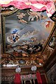 TQ1568 : Hampton Court Palace - Painted Ceiling (1) by Martin Tester