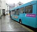 SH4862 : Caernarfon Bus Station by Gerald England