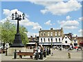 TL1860 : St Neots - Market Square by Colin Smith