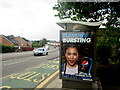 ST3090 : Pepsi Max advert on a Malpas Road bus shelter, Newport by Jaggery