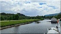 NH6140 : Caledonian Canal at Dochgarroch by Chris Morgan
