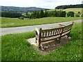 SP0426 : A seat with a view by Philip Halling