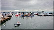 NJ9505 : Aberdeen Tidal Harbour by Peter Moore