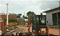 SX9065 : Building work at Lowe's Bridge by Derek Harper